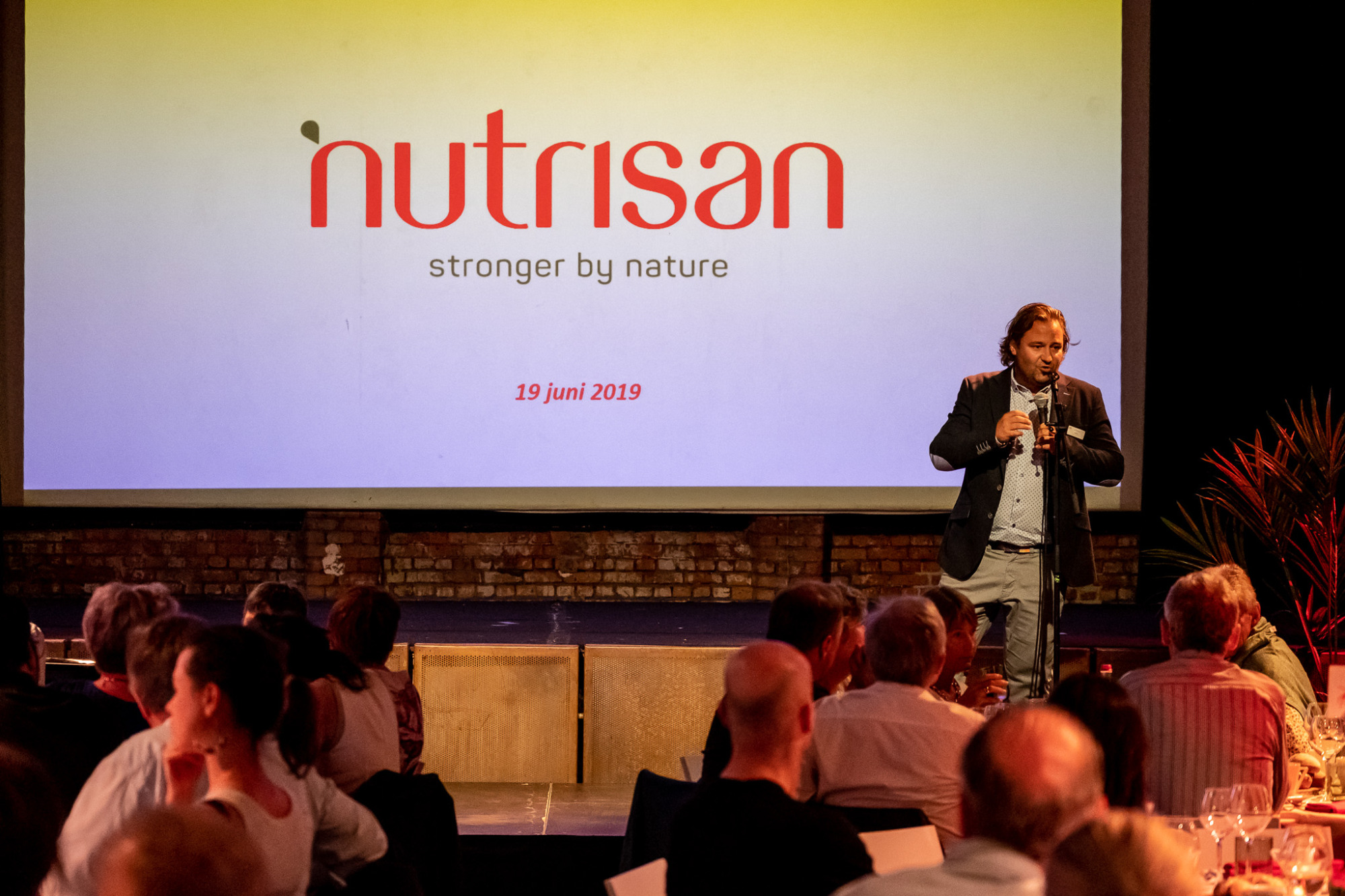 Un bref retour: Keynote Dinner 'Stronger by Nature'