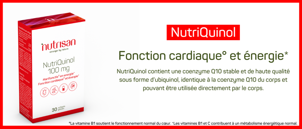 Ubiquinol: la forme active et super absorbable de la coenzyme Q10